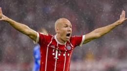 Die Bayern müssen jetzt auf Robben setzen