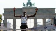 Kimetto läuft Weltrekord
