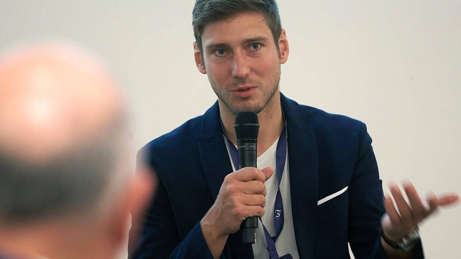 Mann des Säbels und der Worte: Max Hartung ist seit 2017 Vorsitzender von Athleten Deutschland.