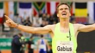 Gabius läuft angekündigten Rekord
