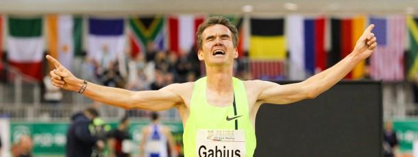 Neuer deutscher Hallenrekord über 5000 Meter: Arne Gabius