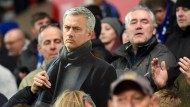 Erstaunlich dünnhäutig? José Mourinho war am Wochenende nur als Pappfigur im Stadion zugegen