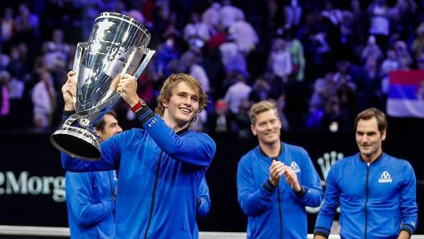 Europa gewinnt Laver Cup nach Sieg von Zverev