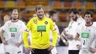 Im falschen Film: Deutschlands Handballspieler brechen gegen Spanien in der Schlussphase ein.