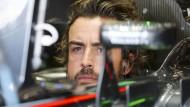Die Zeit läuft ihm davon: Fernando Alonso betet für ein Formel-1-Wunder.