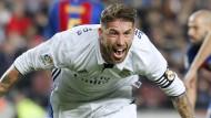 Ramos-Kopfball ärgert Barcelona in letzter Minute