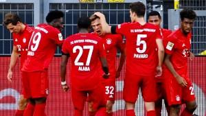 Der FC Bayern beendet den BVB-Traum