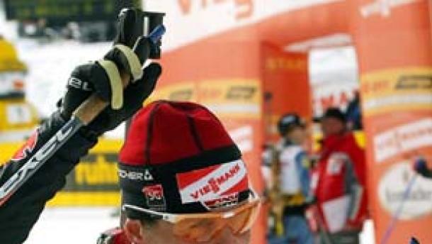 Uschi Disl Weltmeisterin, Sven Fischer gewinnt Silber