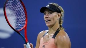 Angelique Kerber scheitert bei US Open an 18-Jähriger