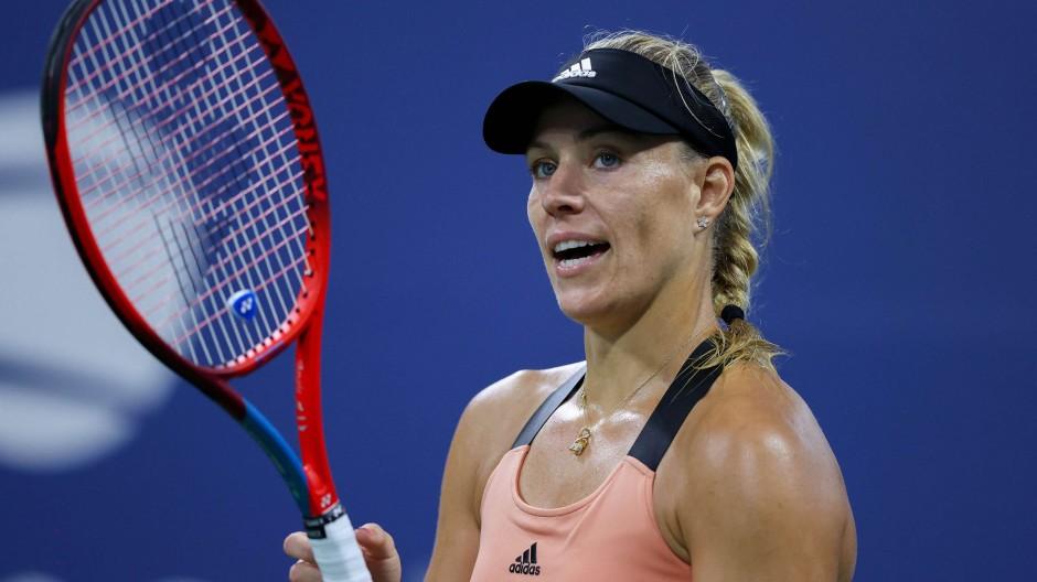 Für Angelique Kerber ist das Achtelfinale der US Open Endstation.