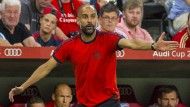Guardiola in Rage