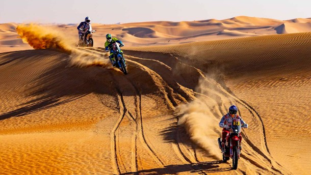 Die umstrittene Rallye Dakar in Saudi-Arabien