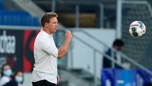 """Nagelsmann lässt Hoffenheim beim """"Heimatbesuch"""" keine Punkte"""
