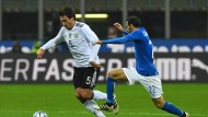 Laufschule in Mailand: Deutschlands Hummels gegen Italiens Zappacosta