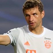 """""""Da geht mir das Herz auf"""": Thomas Müller freut sich über die Gala des FC Bayern."""