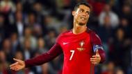 Portugal und Ronaldo verzweifeln