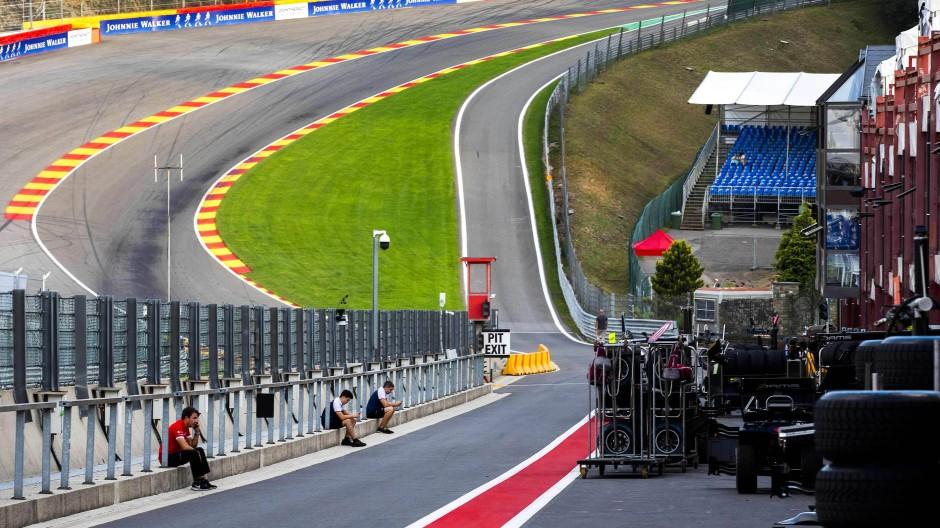 Ort des Unfalls: Die Rennstrecke in Spa-Francorchamps.