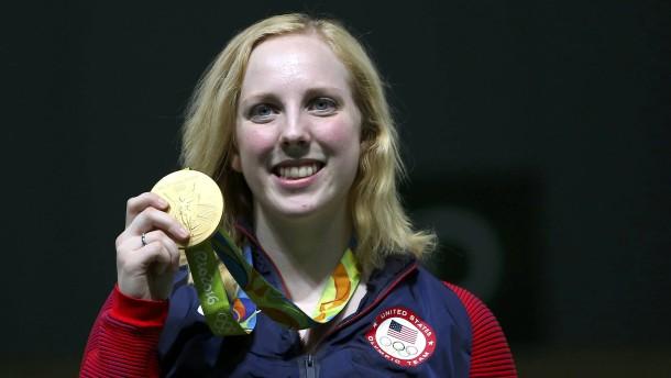 Die erste Goldmedaille geht nach Amerika