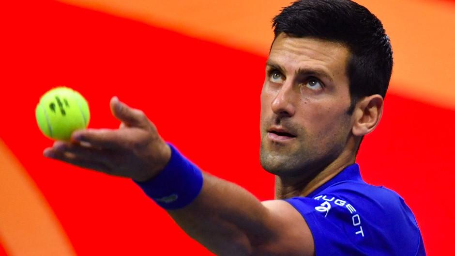 """""""Es war sicherlich nicht meine beste Leistung"""": Novak Djokovic"""