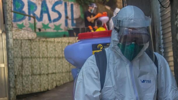 Der Kampf gegen das Chaos in den Favelas