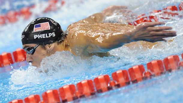 Michael Phelps kann es noch