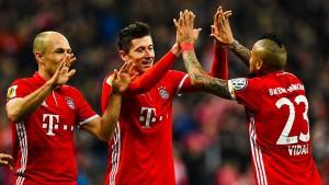 FC Bayern beendet HSV-Modus vorzeitig