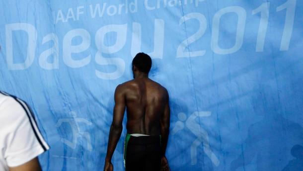 Bolt macht Faxen - und wird disqualifiziert