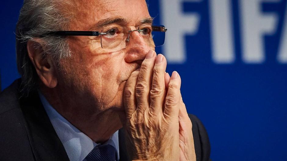 Joseph Blatter trat 2015 als Fifa-Präsident ab.