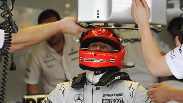Schumacher wird schneller