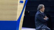 Bockig: der suspendierte Uefa-Chef Platini