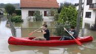 Teile Kroatiens überschwemmt