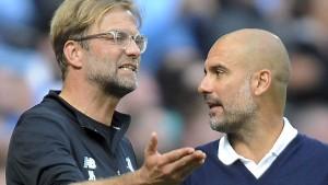 Klopp, Guardiola und das Duell der Superlative