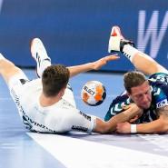 Handball-Bundesliga am Boden: keine Spiele, keine Einnahmen.