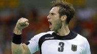Die deutschen Handballer um Uwe Gensheimer kommen der Medaille immer näher.