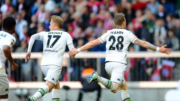 Gladbach verdirbt Bayern das Feiern