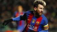 Doppelpack in Glasgow: Lionel Messi trifft in der Champions League.