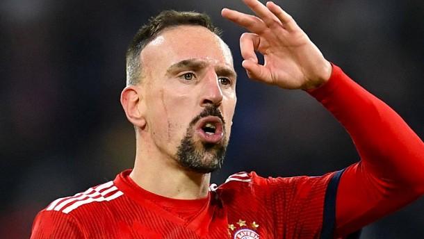Ribéry will sich mit Abschied von Bayern nicht abfinden