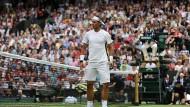 Rasenvorbereitugn besonderer Art: Nach holprigem Start gewinnt Nadal souverän gegen Russell
