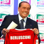 Die Nummer eins bei AC Monza: Silvio Berlusconi