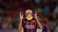 Kantersieg ohne Tor von Neymar