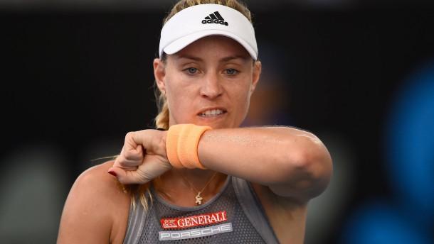 Kerbers Start ins Tennis-Jahr missglückt