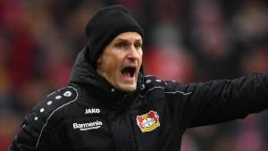 Leverkusen wieder auf Platz zwei