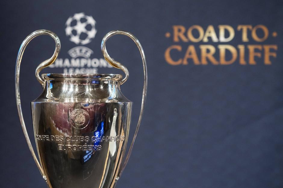 Das Ziel: die Champions-League-Trophäe
