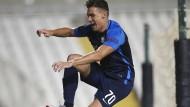 Sprung ins Ungewisse: Benjamin Kololli vom FC Zürich