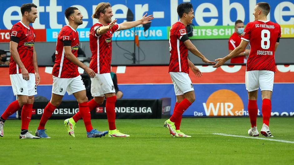 Souverän und eindeutig: Freiburg besiegt den FC Augsburg.