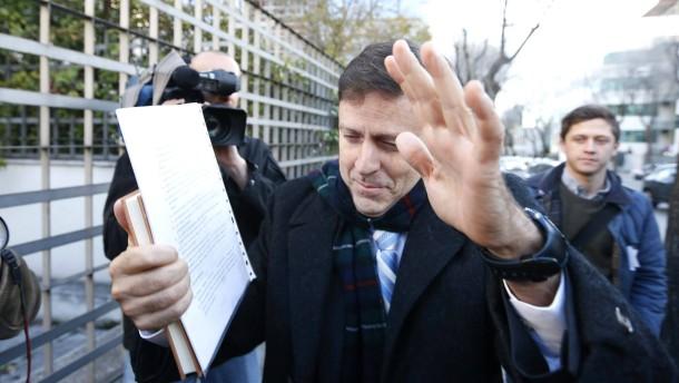 Auf dem Weg in den Gerichtssaal: Eufemiano Fuentes