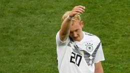 Brandt verteidigt Selfie nach Mexiko-Spiel