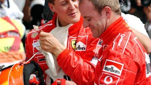 Schumacher auf Pole-Position
