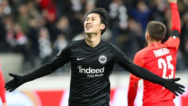 Kamada wie ein japanischer Fußball-Prinz