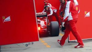 Vettels Freude steckt Ferrari an